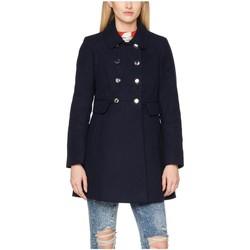 textil Mujer Abrigos Anastasia Abrigo de cuello de piel de invierno Black