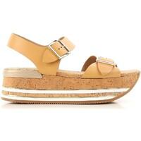 Zapatos Mujer Sandalias Hogan HXW3540AA40D0WC611 beige