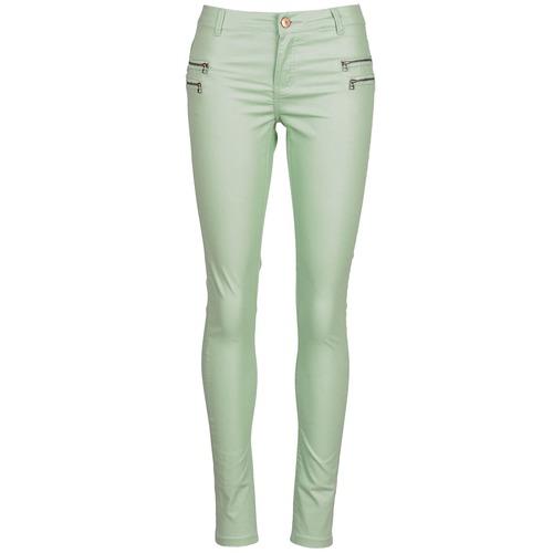 textil Mujer pantalones con 5 bolsillos Noisy May FAME Verde