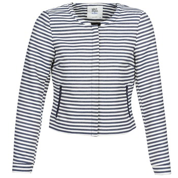 textil Mujer Chaquetas / Americana Vero Moda MALTA Marino / Blanco