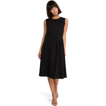 textil Mujer Vestidos Style S154 Blazer de un solo botón - negro