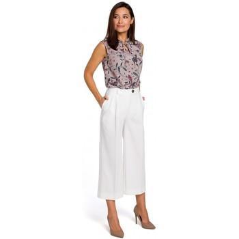 textil Mujer Vestidos Style S139 Cullotes - crudo