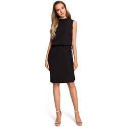 textil Mujer Vestidos Moe M423 Vestido blusón con espalda dividida - negro