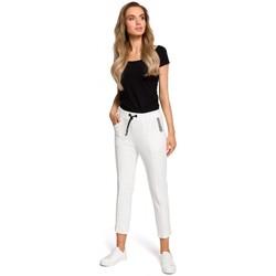 textil Mujer Sudaderas Moe M411 Joggers 7/8 - crudo