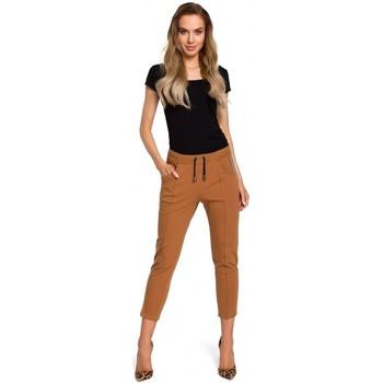 textil Mujer Sudaderas Moe M411 7/8 Joggers - caramelo