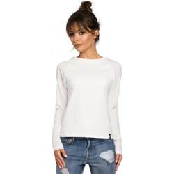 textil Mujer Camisetas manga larga Be B047 Blusa versátil - color crudo