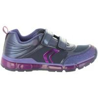 Zapatos Niña Zapatillas bajas Geox J8445A 0AJAU J ANDROID Azul