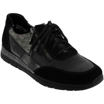 Zapatos Mujer Richelieu Rieker N5320 Cuero negro