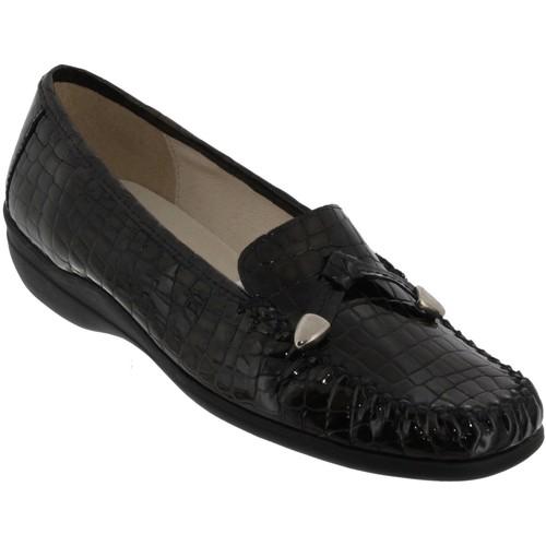Zapatos Mujer Mocasín Marco MAXOU Gris oscuro barnizado