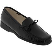Zapatos Mujer Mocasín Marco NICE Cuero negro
