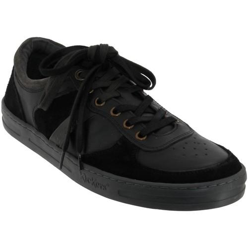 Zapatos Hombre Richelieu Kickers Apon Cuero negro