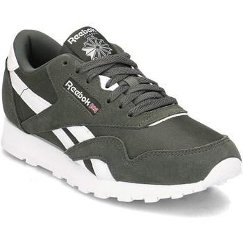 Zapatos Niños Zapatillas bajas Reebok Sport Classic Nylon Verde