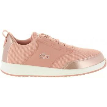 Zapatos Niña Zapatillas bajas Lacoste 36SPJ0008 LIGHT F50 PNK-WHT Rosa
