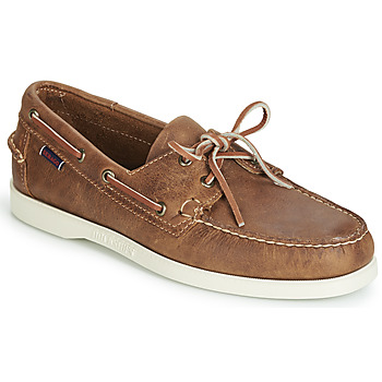 Zapatos Hombre Zapatos náuticos Sebago DOCKSIDES PORTLAND CRAZY H Marrón