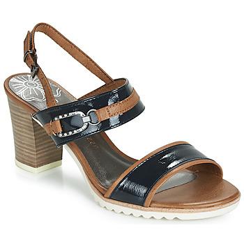 Zapatos Mujer Sandalias Marco Tozzi TRELEME Camel / Marino
