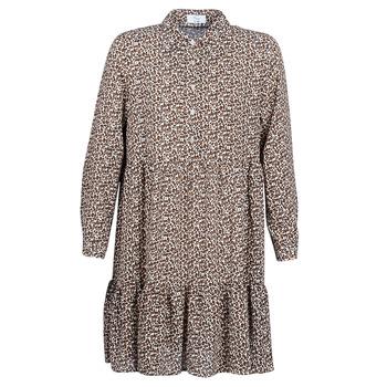 textil Mujer vestidos cortos Betty London JECREHOU Beige / Marrón
