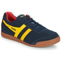 Zapatos Hombre Zapatillas bajas Gola HARRIER Azul / Amarillo