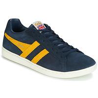 Zapatos Hombre Zapatillas bajas Gola EQUIPE SUEDE Azul / Amarillo