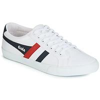 Zapatos Hombre Zapatillas bajas Gola VARSITY Blanco