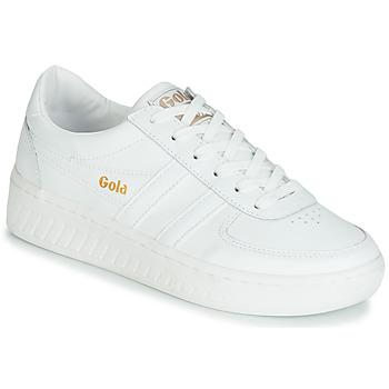 Zapatos Mujer Zapatillas bajas Gola GRANDSLAM LEATHER Blanco