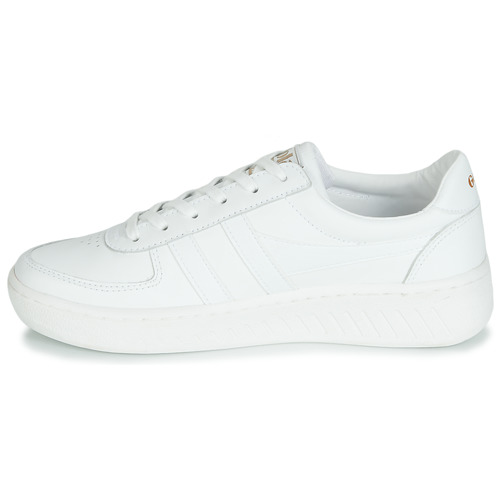 Blanco Zapatos Mujer Grandslam Gola Leather Bajas Zapatillas QtshCrd