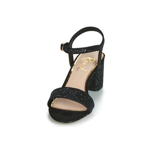Mujer Sandalias Ravel Zapatos Negro Walton 543ARjqL