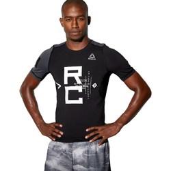 textil Hombre camisetas manga corta Reebok Sport Combat SS Rash Guard