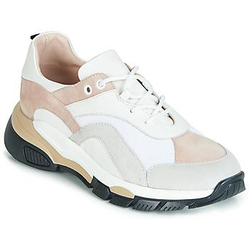Zapatos Mujer Zapatillas bajas Tosca Blu KELLY Blanco / Beige