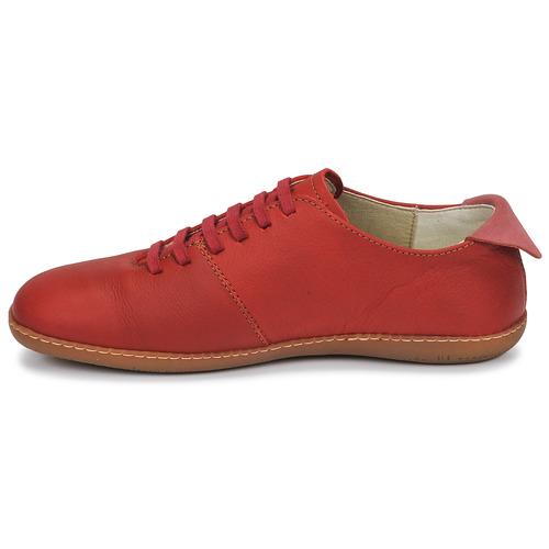 Naturalista Zapatos Rojo El Bajas Viajero Zapatillas eWxrCBQod
