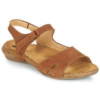 Zapatos Mujer Sandalias El Naturalista WAKATAUA Marrón