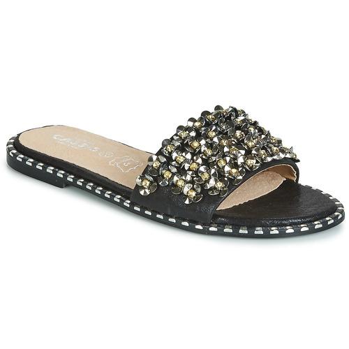 Zapatos Mujer Zuecos (Mules) Cassis Côte d'Azur ALVINA Negro
