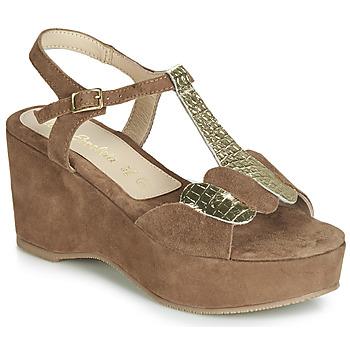 Zapatos Mujer Sandalias Lola Espeleta NAWELLE Marrón