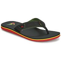 Zapatos Hombre Chanclas Quiksilver MOLOKAI ABYSS M SNDL XGKG Negro