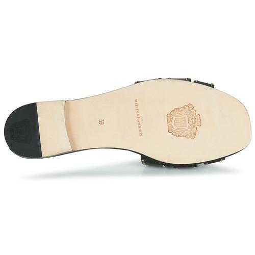 Elodie Negro Melvinamp; Zapatos Hamilton Sandalias 14 Mujer ALcjq354R