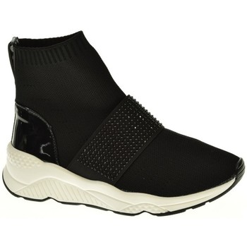 Zapatos Mujer Zapatillas altas D Angela BOTIN MUJER  NEGRO Negro