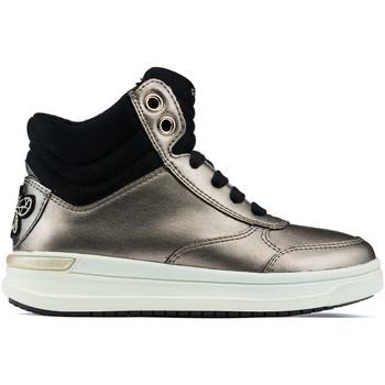 Zapatos Niños Zapatillas altas Geox ES  JR AVEUP GIRL GOLD