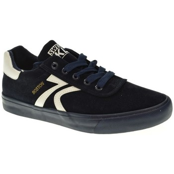 Zapatos Mujer Zapatillas bajas Sweden Kle 601029 azul