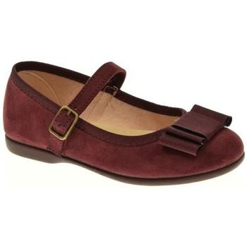 Zapatos Niña Bailarinas-manoletinas Tokolate MANOLETINA NIÑA  BURDEOS Violeta