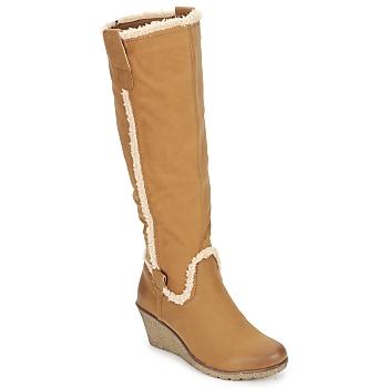 Zapatos Mujer Botas urbanas StylistClick SANAA Camel