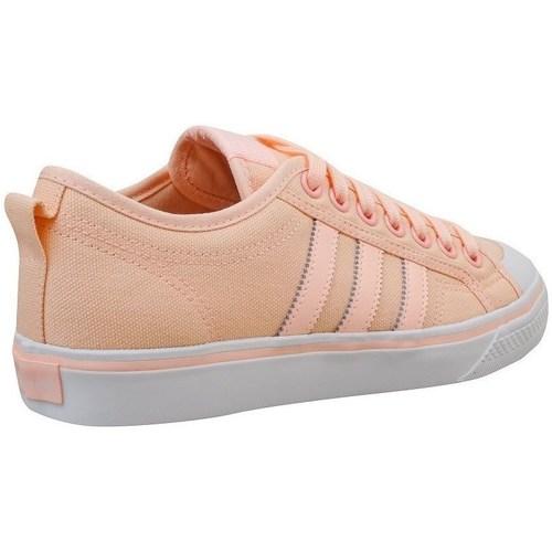 Zapatos Mujer Zapatillas bajas adidas Originals Nizza W De color naranja,Rosa