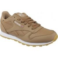 Zapatos Niños Zapatillas bajas Reebok Sport Classic Leather marrón