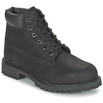 Zapatos Niños Botas de caña baja Timberland 6 IN CLASSIC Negro