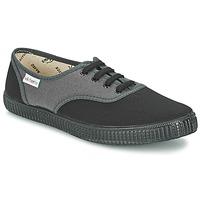 Zapatos Zapatillas bajas Victoria INGLESA BICOLOR Antracita