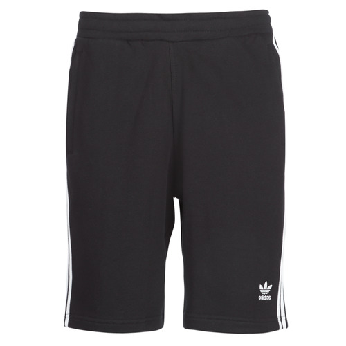textil Hombre Shorts / Bermudas adidas Originals 3 STRIPE SHORT Negro