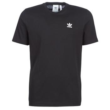 textil Hombre camisetas manga corta adidas Originals ESSENTIAL T Negro