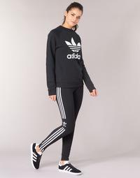textil Mujer leggings adidas Originals TREFOIL TIGHT Negro