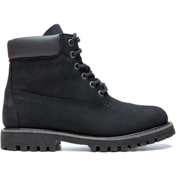 Zapatos Botas de caña baja Nae Vegan Shoes Etna Black preto