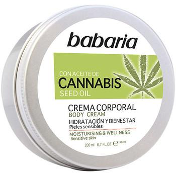 Belleza Hidratantes & nutritivos Babaria Cannabis Crema Corporal Hidratante Y Bienestar