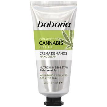 Belleza Cuidados manos & pies Babaria Cannabis Crema Manos Nutrición Y Bienestar  50 ml
