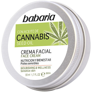 Belleza Hidratantes & nutritivos Babaria Cannabis Crema Facial Nutrición Y Bienestar